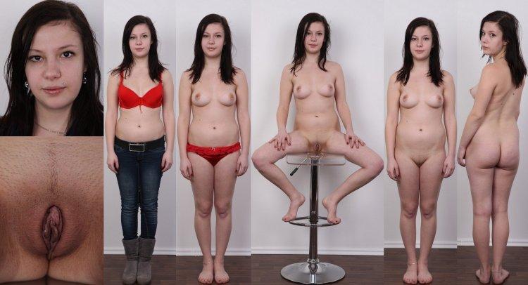 Голые девушки без косметики (60 фото)