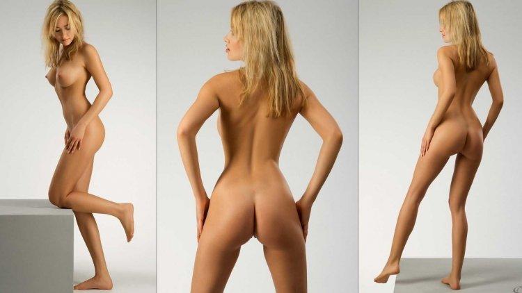 Голые девушки с идеальным ростом (53 фото)
