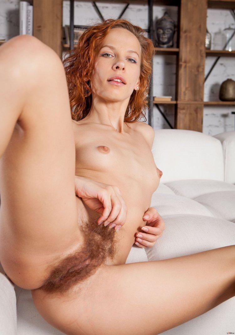Порно с рыжими волосатыми письками (48 фото)