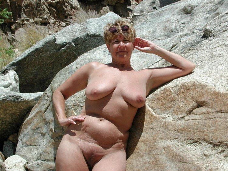 Старые нудистки (60 фото)