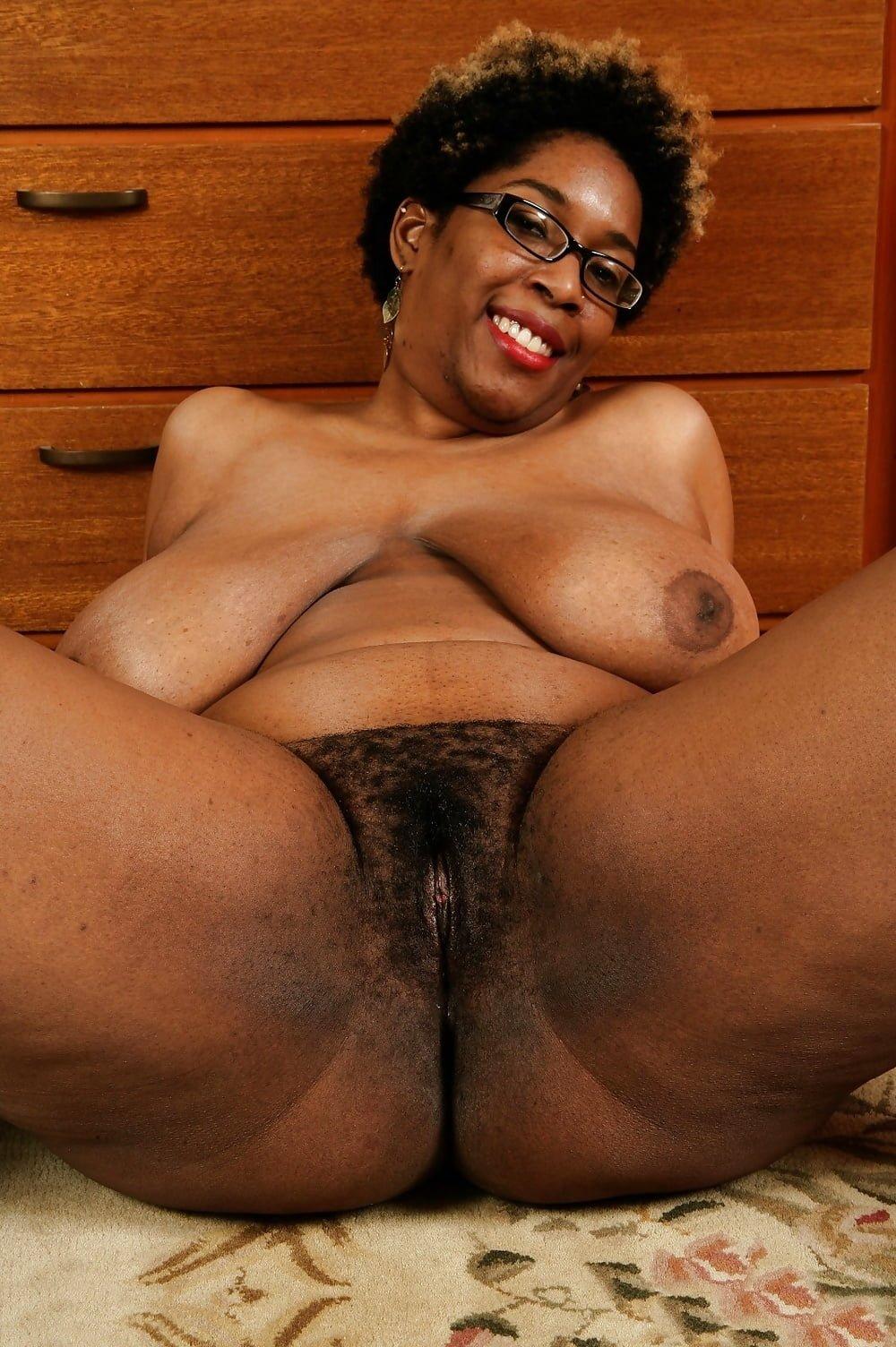 Black Mature Hairy