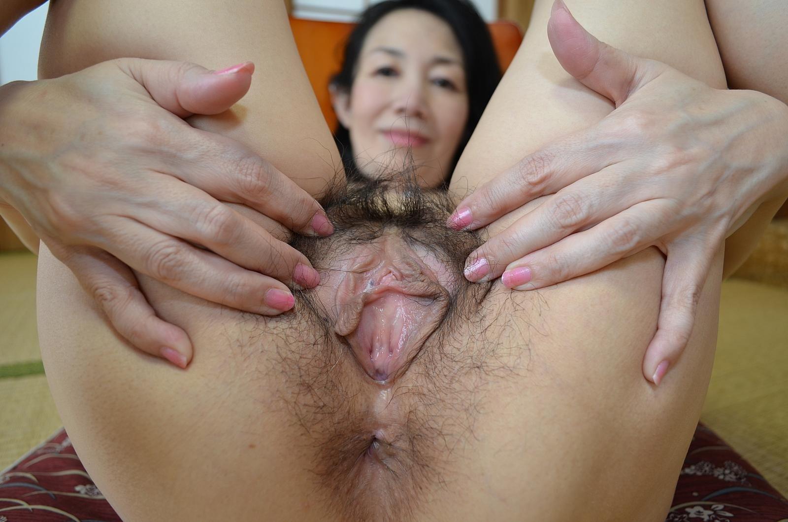 Asian Hairy Mature