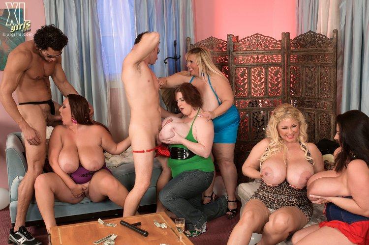 Групповуха с толстыми женами (76 фото)